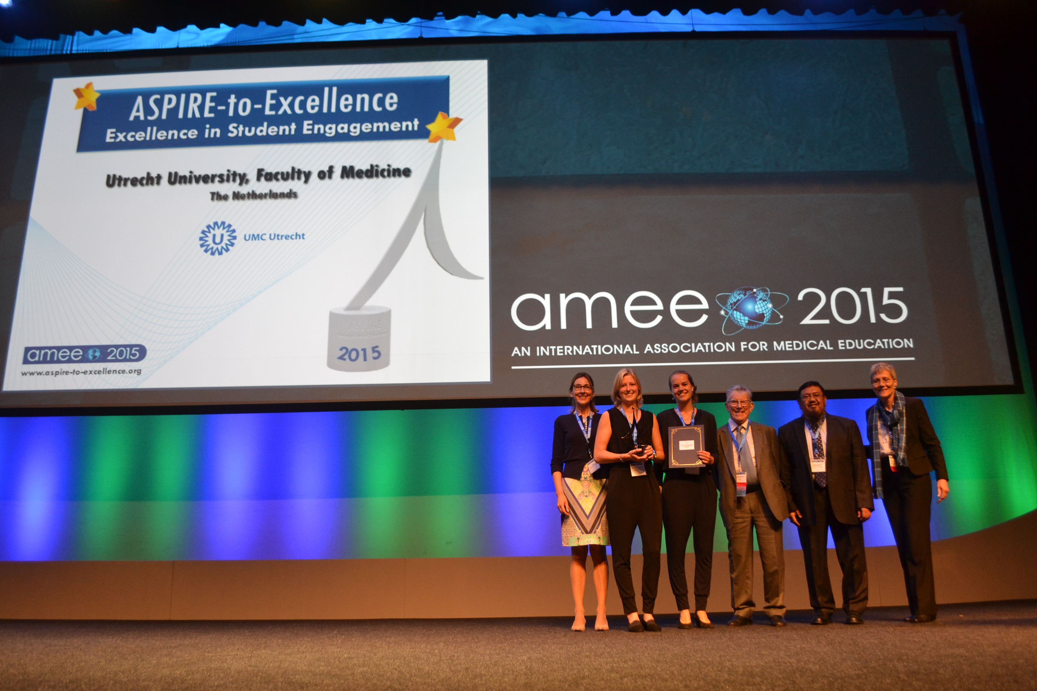 AMEE 2015 - ASPIRE-to-Excellence Student Awards - 024_Utrecht.JPG
